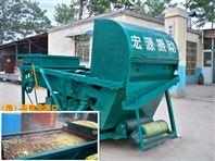 小米清沙土雜質篩分機-小型糧食清選機