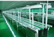 清遠皮帶輸送線容易跳偏的生產流水輸送機