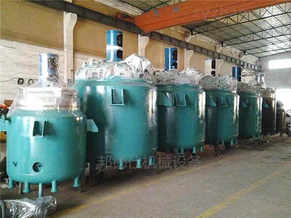广东导热油加热反应釜 PU胶生产设备