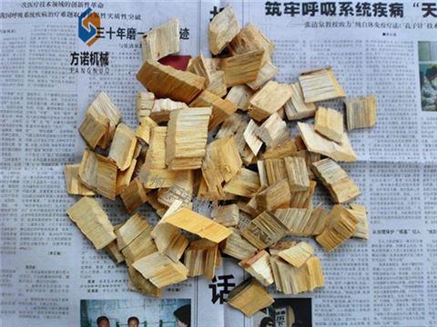 小型木材削片机粉碎机柴油版木材切片机
