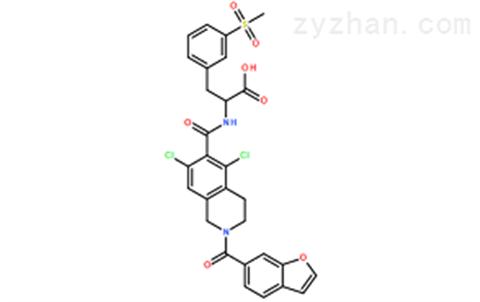 小分子整合素抑制剂化合物原料立他司特供应