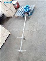 小型污水池高浓稠度JBJ型桨型立柱式搅拌器