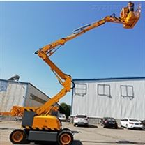 16米自行曲臂式升降平臺高空作業車