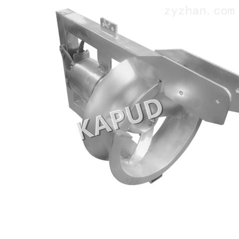 三片螺旋式叶桨 抽吸式污水回流泵QHB1.5/6