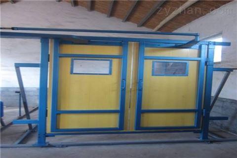 矿用竹胶板风门,竹制可视行人平衡风门