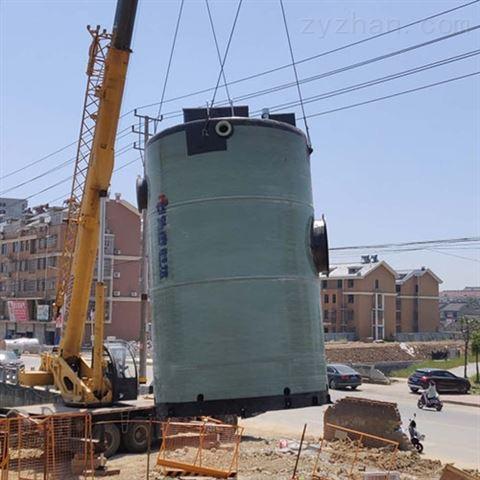 无锡一体化预制泵站玻璃钢泵站生产厂家