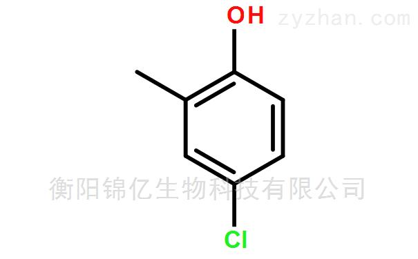 氯甲酚:4-氯-2-甲基苯酚原辅料生产厂家