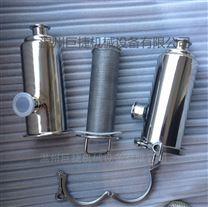不锈钢卫生级焊接管道角式过滤器