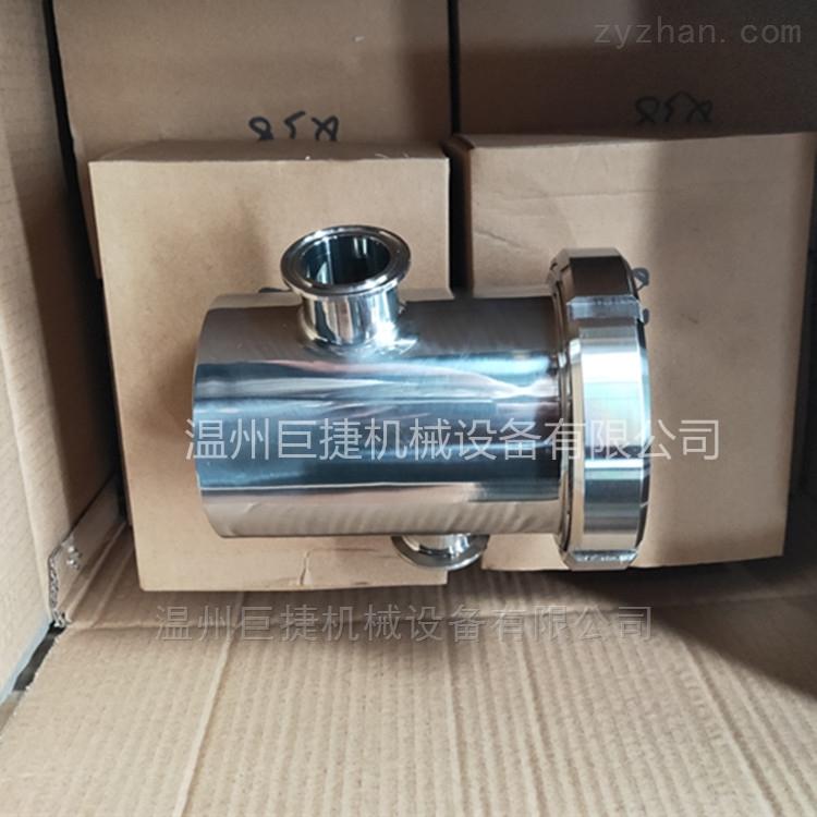 卫生级空气隔断器搞防腐巨捷19MM-108MM