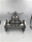 卫生级法兰隔膜阀304/316L材质