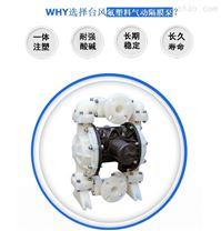 气动隔膜泵 台风小型耐腐蚀气动泵 性价比高