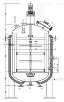 300L帶夾套不銹鋼均質攪拌反應釜