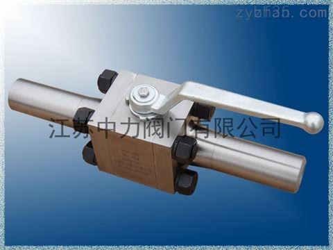 不锈钢三片式加长焊接球阀