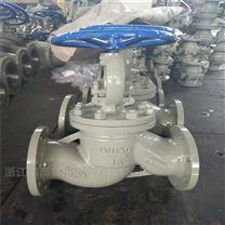 廠家批發 J41H-16C DN200 大口徑鑄鋼截止閥