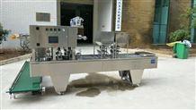 全自動塑料方杯冰楊梅汁灌裝封口機設備