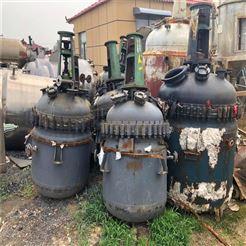 化工厂专用二手1立方搪瓷反应釜