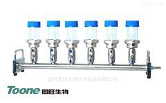 TW-STV6A微生物过滤支架六联配反复使用滤杯100ml