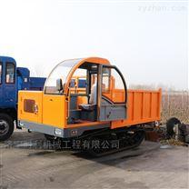 橡胶履带运输车图片 链轨自卸车-时利机械