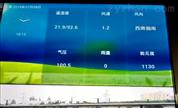 湖北省能見度數值霧霾天氣交通安裝監測站
