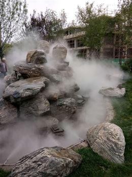 园林景区喷雾造景设备