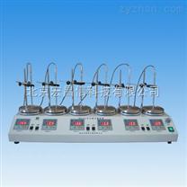 HJ-6A數顯恒溫多頭磁力攪拌器