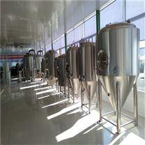 青岛2000升自酿啤酒设备德式工艺