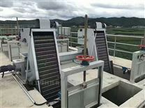 回轉式機械格柵機反撈式階梯網板格柵除污機