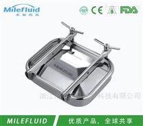 MLE双锁不锈钢方形人孔