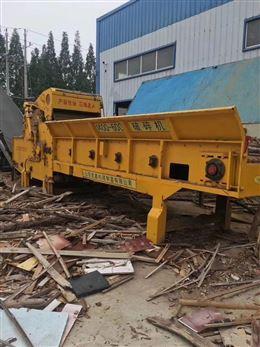 上门回收二手综合木材破碎机