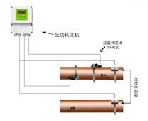 大连海峰外夹式电池供电超声波热量表