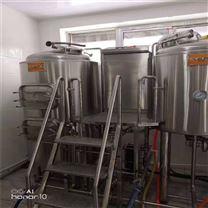 精酿啤酒设备在山西大同安装现场
