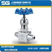 高压对焊针型阀