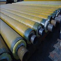 直埋钢套钢蒸汽管道施工,聚氨酯直埋保温管