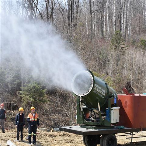 封闭输煤系统车载自走式防爆喷雾机 多型号