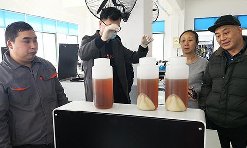 上海盧湘儀迎來重要客戶,旗下離心機圓滿完成大腸桿菌分離實驗