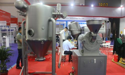杭州原料药展盛况:健牌科技重磅产品成为看点!