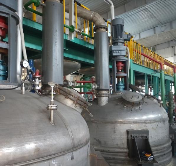 興恒機械不銹鋼反應釜加熱迅速耐高溫 無環境污染