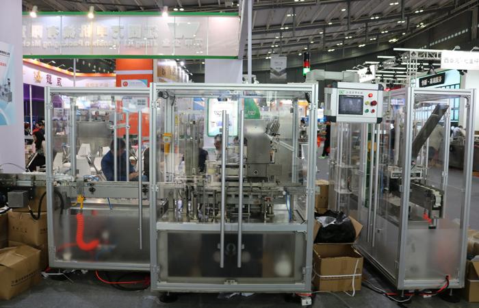 上海万申全新智能化包装生产线亮相第57届药机展