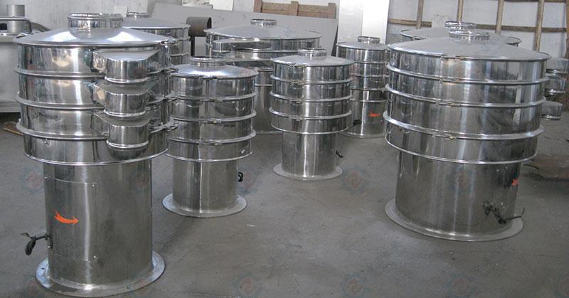 硫磺粉振动分级筛
