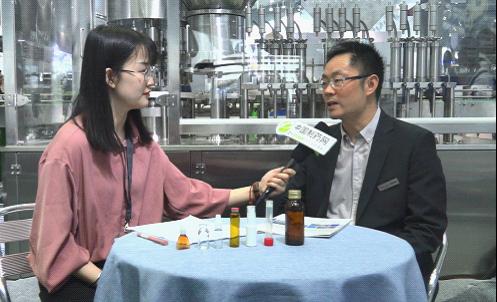 威龙科技蒋玉华:产品+服务 做精做强瓶装液体灌装生产线