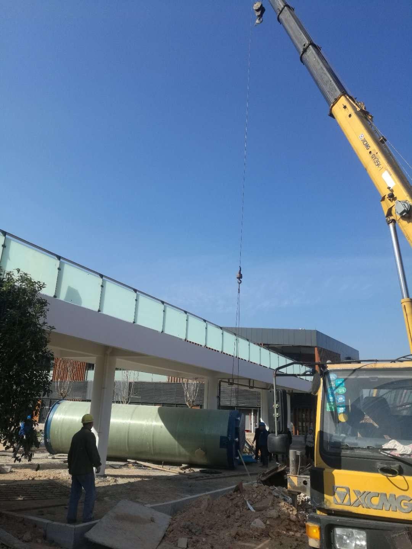 安徽泗县一体化提升泵站顺利调试交付使用